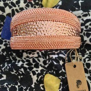New Hinged Rose Gold Passiana Bangle Bracelet
